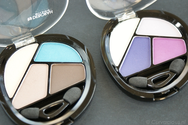 deborahmilanoquads2 - Deborah Milano | Quad eyeshadow Total Purple & Turquoise Touch
