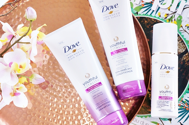 dove advanced hair series youthful vitality - Dove advanced hair series