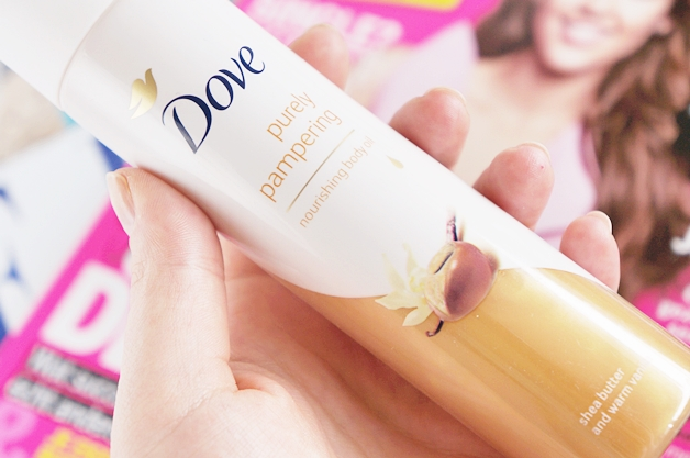 dove purely pampering nourishing body oil 3 - Dove purely pampering body oils