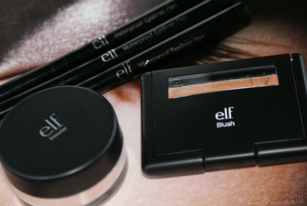 elf2012januari1 - New In | E.L.F. waterproof eyeliner pen's, mineral booster & blush