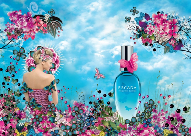 escada summer turquoise limited edition 2015 eau de toilette - Happylist | Escada turquoise summer & My-Jewellery armcandy
