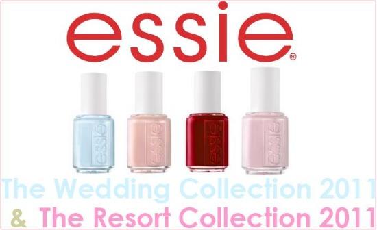 essieweddingresort3 - Essie 'The Wedding' & 'The Resort' Collectie 2011