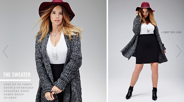 forever 21 herfst 2014 3 - Pre-fall plussize outfit & Forever21 fall lookbook