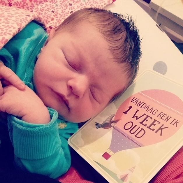 geboorte shae 4 - Welkom op de wereld, kleine meid