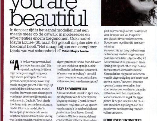 glamourbiggirl1 - Plus Size in de media | Big girl, you are beautiful