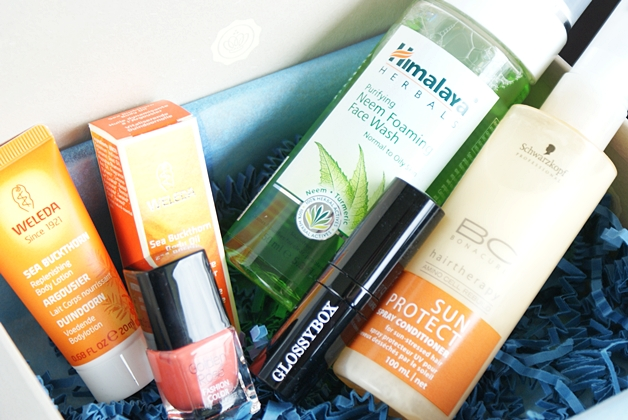 glossybox2012juli2 - Glossybox | Juli 2012 (unboxing & mini-reviews)