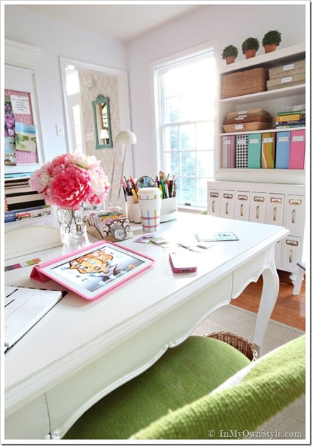 interieur kantoor inspiratie 14 - Interieur inspiratie voor je kantoor/werkkamer