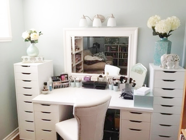interieur make up hoekjes 12 - Interieur inspiratie | Make-up hoekjes