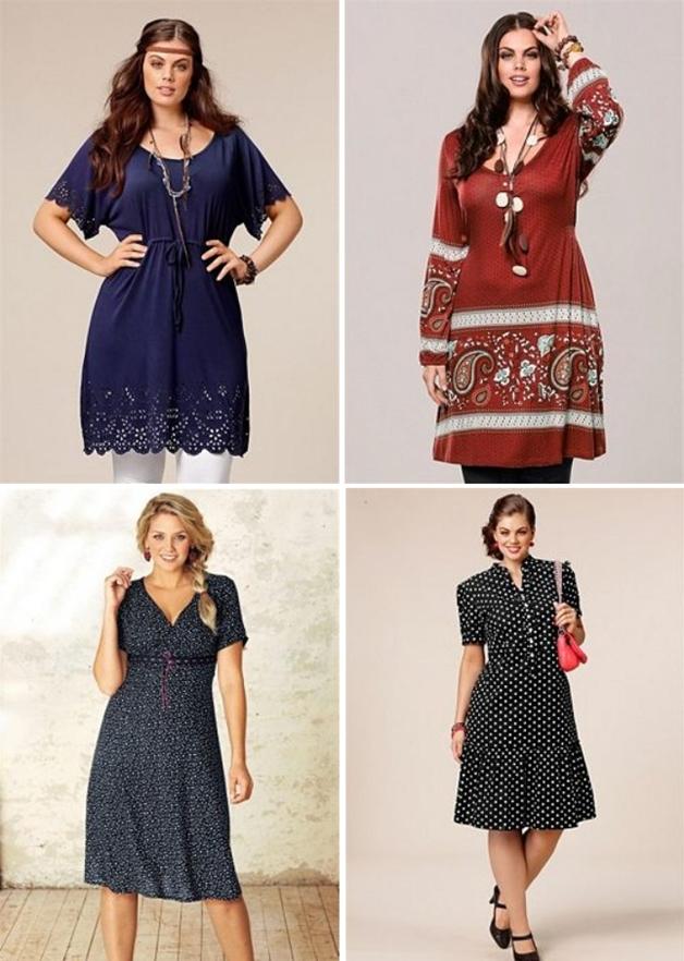jurkjesmouwen3 - Plus Size | 26 x jurkjes met mouw
