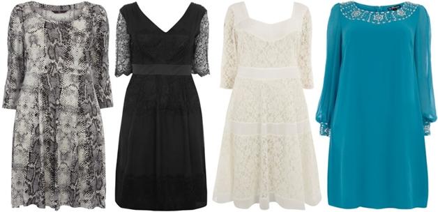 jurkjesmouwen5 - Plus Size | 26 x jurkjes met mouw
