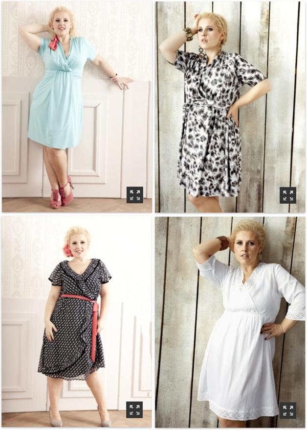 jurkjesmouwen7 - Plus Size | 26 x jurkjes met mouw