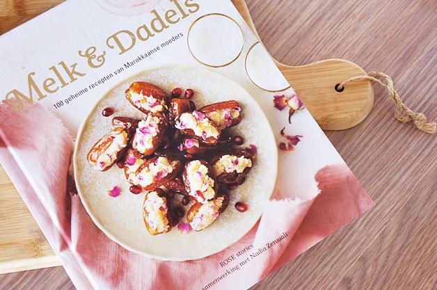 kookboek melk en dadels rose stories nadia zerouali - Kookboek recept | Marokkaanse citroen kwarktaart