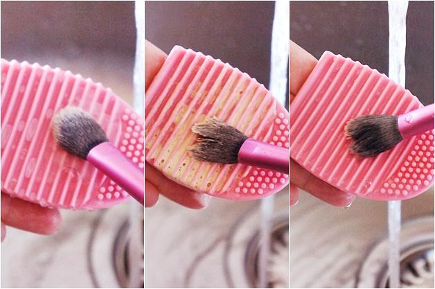 kwasten wassen tips 2 - Mijn top 5 make-up kwasten & how-to kwasten wassen