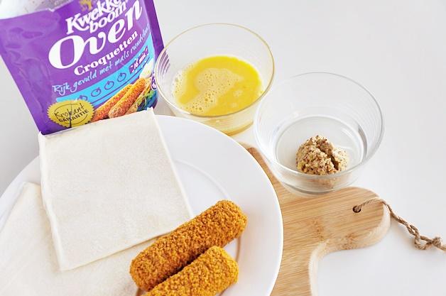 kwekkeboom oven recept kroketbroodje 1 - Recept | Het lekkerste kroketbroodje