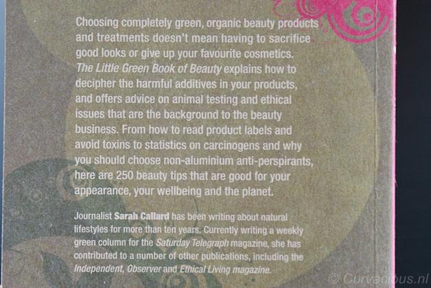littlegreenbookofbeauty2 - Beautyboek   The little green book of Beauty - Sarah Callard