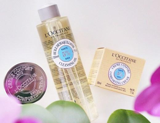 loccitane shea cleansing oil comforting cream light review 1 - L'Occitane Shea cleansing oil & comforting cream light
