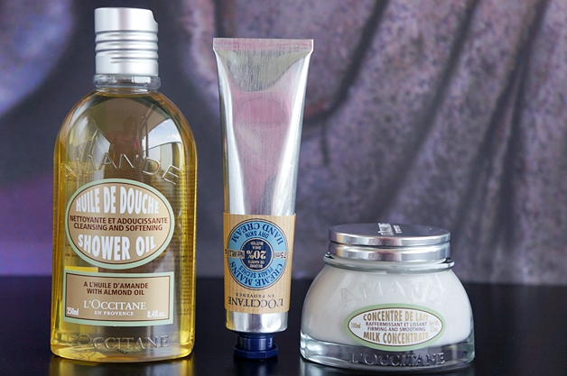 loccitane shower oil milk concentrate ultra rich hand cream 1 - Love it! | L'Occitane shower oil, milk concentrate & ultra rich hand cream