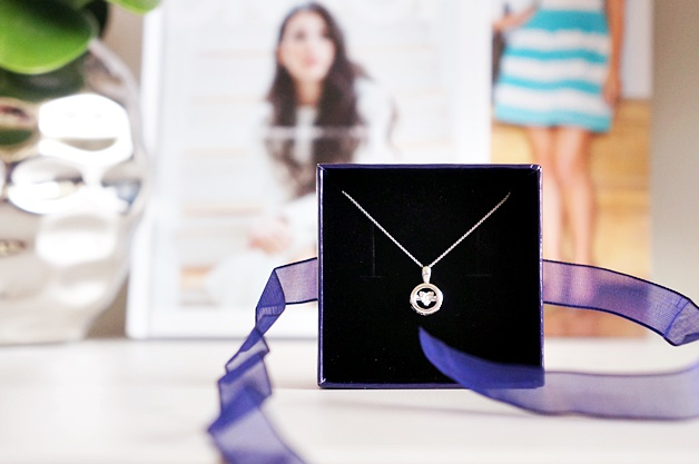 lucardi silver diamond ketting 1 - Lucardi Silver & Diamond dancing diamonds ketting