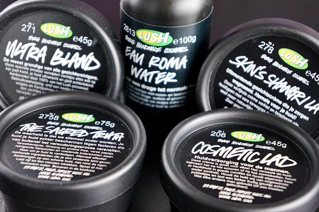 lush skincare droge gevoelige huid 1 - Lush skincare voor een droge en gevoelige huid
