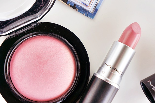 mac dainty mineralize blush creme cup cremesheen lipstick review swatches 2 - MAC Dainty & Crème Cup