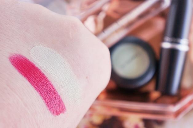 mac is beauty preening diva ish review swatches 4 - MAC is beauty | Preening eyeshadow & Diva-ish lipstick