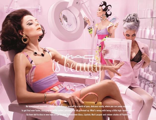 mac is beauty preening diva ish review swatches 6 - MAC is beauty | Preening eyeshadow & Diva-ish lipstick