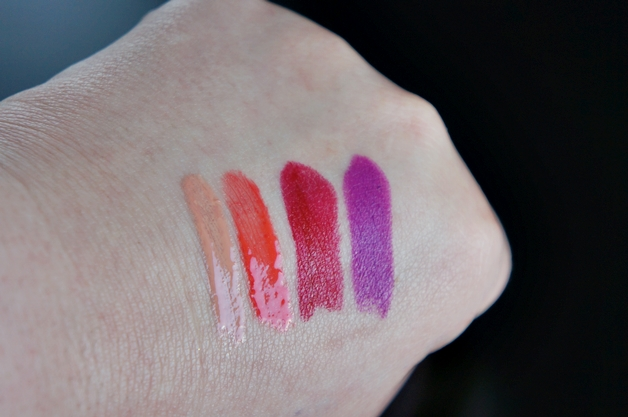 mac liquid passion ablaze runaway red heroine 3 - MAC | Heroine, Runaway Red, Ablaze & Liquid Passion