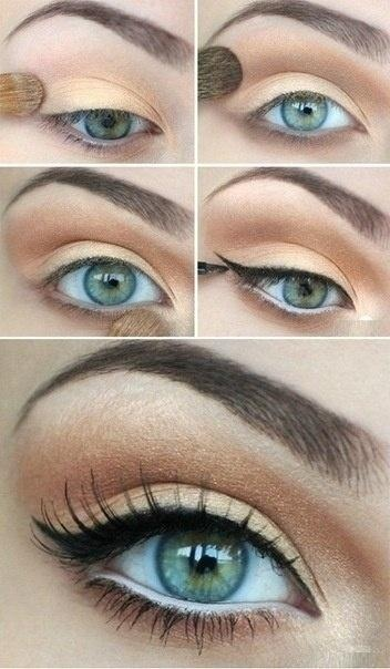 make up tips groene ogen 2 - Make-up tips voor groene ogen