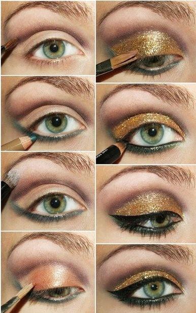 make up tips groene ogen 3 - Make-up tips voor groene ogen