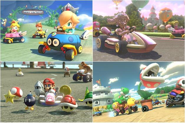 mario kart 8 review - Gametime | Good old Mario en Kirby
