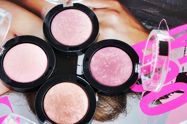 max factor creme puff blush review swatches 2 - Max Factor crème puff blushes