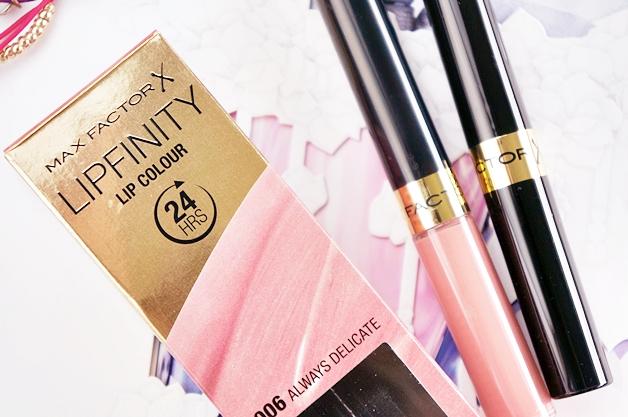 max factor lipfinity lip color always delicate 1 - Max Factor lipfinity lip colour | Always Delicate