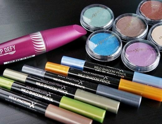 max factor nieuws juli 2013 1 - Max Factor shadow pots, shadow pencils & clump defy mascara