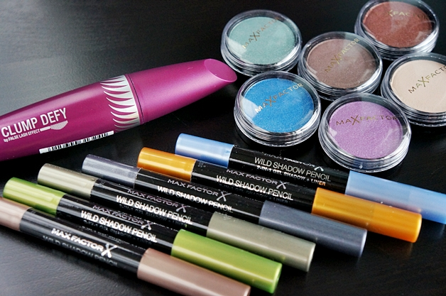 max factor nieuws juli 2013 1 - Max Factor shadow pots, shadow pencils & clump defy mascara
