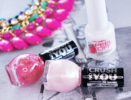 miss sporty peel off base coat crush on you nail polish 1 - Miss Sporty peel off base coat & crush on you nail polish