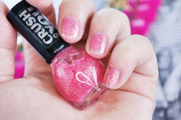 miss sporty peel off base coat crush on you nail polish 6 - Miss Sporty peel off base coat & crush on you nail polish