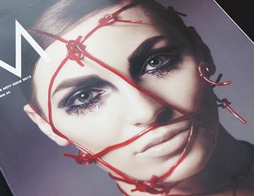 mus18magazine1 - Make Up Store   Magazine #18 the arty issue 2012