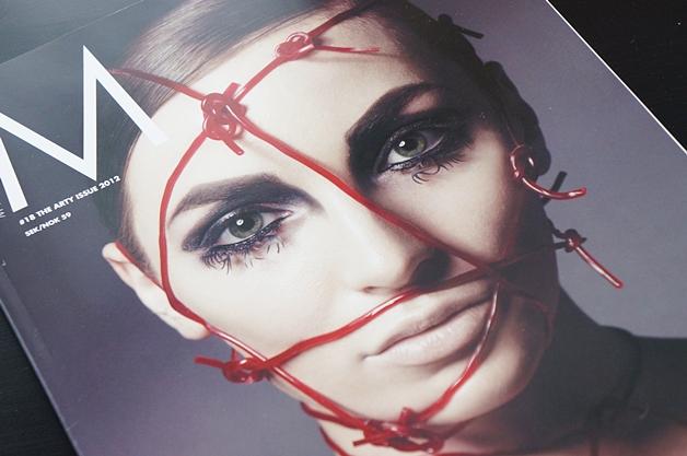 mus18magazine1 - Make Up Store | Magazine #18 the arty issue 2012
