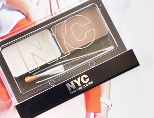 nyc browser brush on brow kit 1 - Budget tip | NYC browser brush-on brow kit