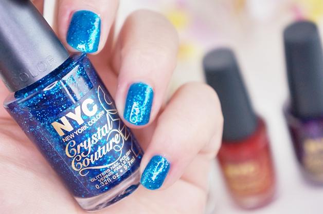 nyc strip me off base coat crystal couture nail polish 6 - NYC strip me off base coat & crystal couture nail polish