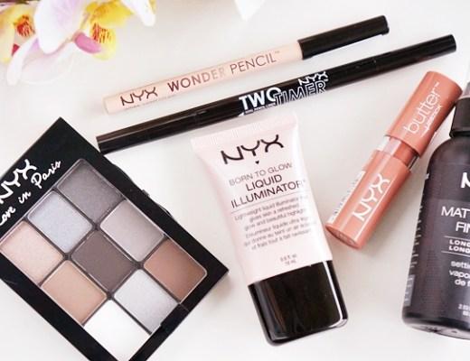nyx smoky eye nude lips 1 - NYX | Soft smokey eyes & nude lips look