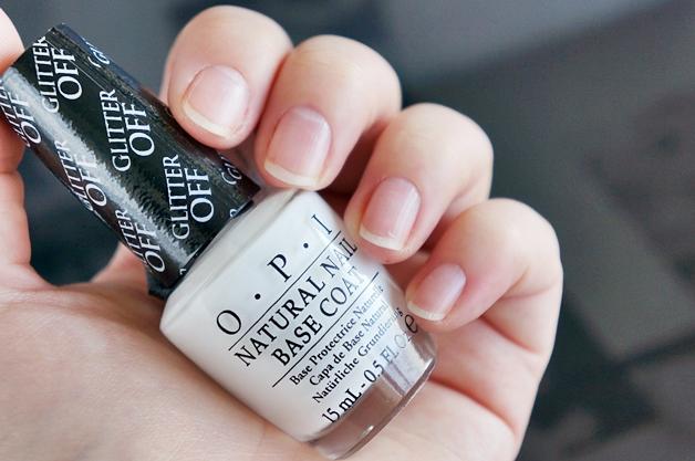 opi glitter off peelable base coat 3 - OPI Glitter Off peelable base coat
