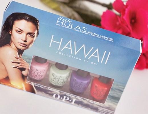 opi hawaii collection little hulas mini nail polish lacquers 1 - OPI Hawaii collectie | Little Hulas set