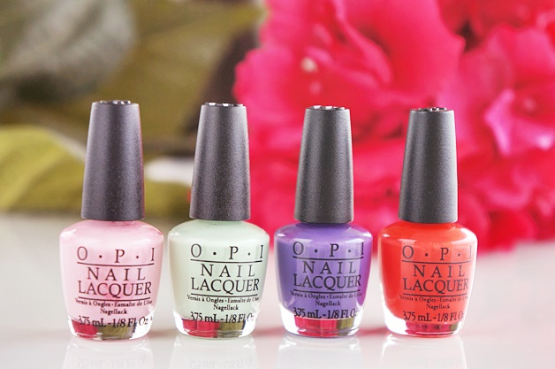 opi hawaii collection little hulas mini nail polish lacquers 2 - OPI Hawaii collectie | Little Hulas set
