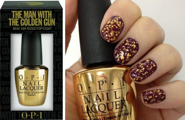 opithemanwiththegoldengun1 - Newsflash! | OPI Skyfall collectie & gouden topcoat