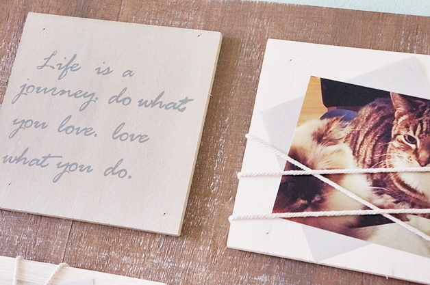 otto interieur fotolijst quotes 2 - Love it! | Wandbord met quotes & foto's