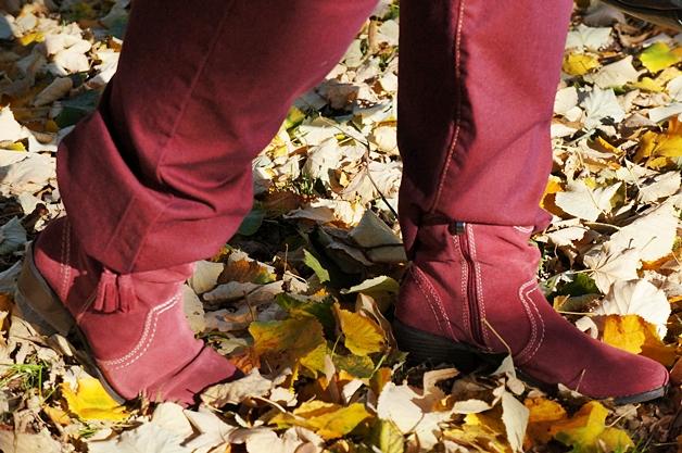 outfitberryshinyautumn4 - Plussize outfit | Berry shiny autumn