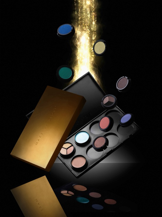 palette gold 4 - Make Up Store fall look 2011 'Show Girl'