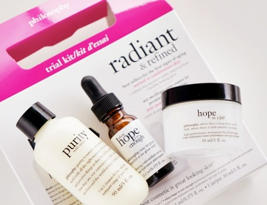 philosophy radiant refined trial kit 1 - Cadeautip | philosophy radiant & refined trial kit