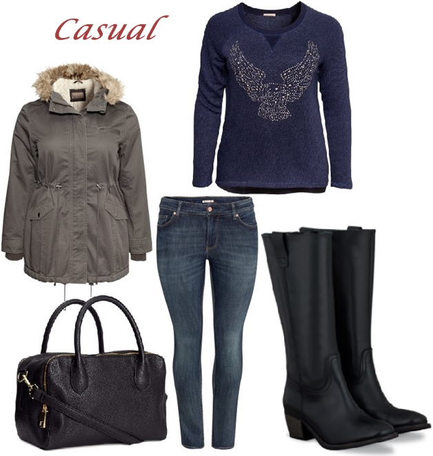 plussize duoboots hm - 3 Plussize herfst outfits incl. DUO Santana boots